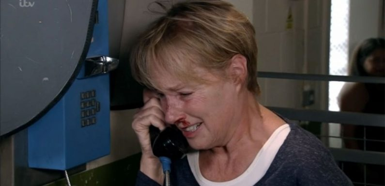 Corrie fans plead for Sally's release as she begs for help after brutal attack
