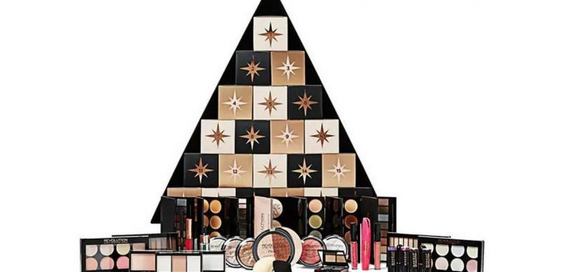Superdrug slash price of beauty advent calendars for early bird festive shoppers