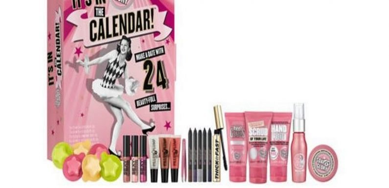 Boots have included popular advent calendars in the Christmas 3 for 2 offer