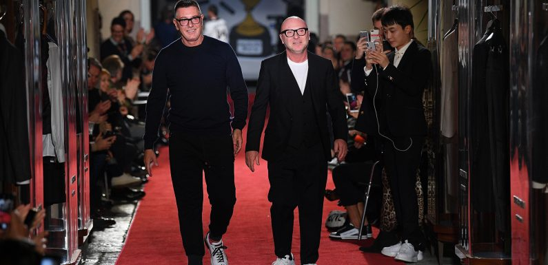 Why Dolce & Gabbana's founders are laughing at their haters