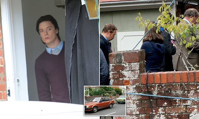 ITV recreates moment police confront Jeremy Bamber on his doorstep