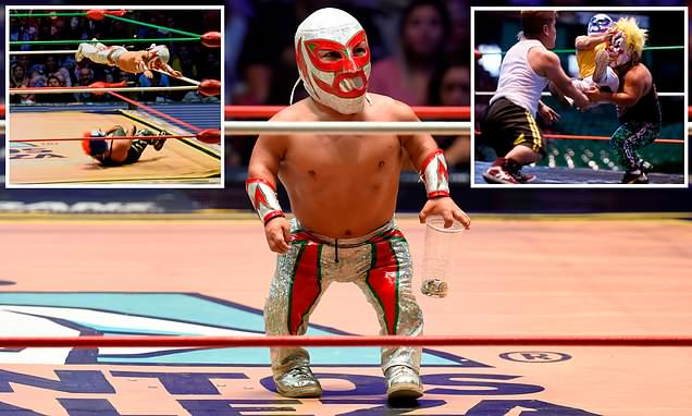 Meet Microman: Mexico's smallest wrestling star leading a revolution