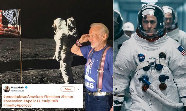 Buzz Aldrin blasts First Man over American flag omission