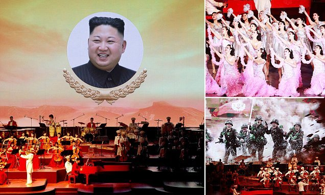 North Korea begins celebrating 70th anniversary of its official birth