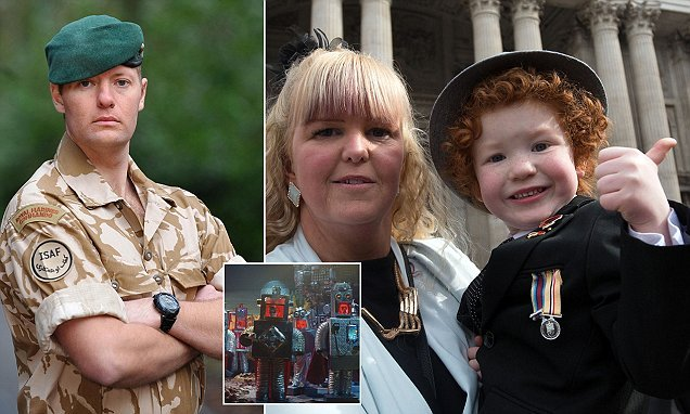 Child star of new John Lewis advert lost his father in Afghanistan