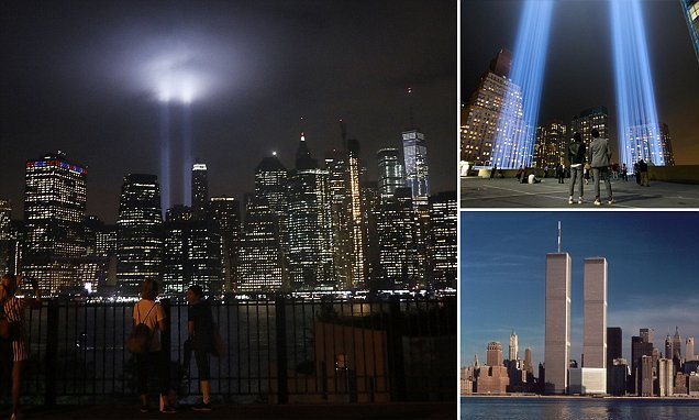 Two beams light up Manhattan skyline for annual Tribute in Light