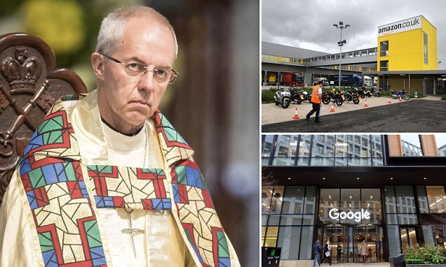 Church of England holds a multi-million pound stake in Amazon