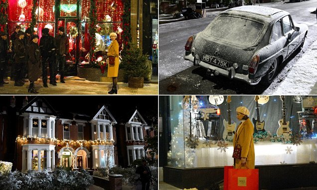 M&S transforms a West London street for new Christmas ad