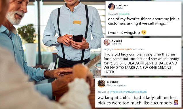 Waiters share their worst customer stories on Twitter
