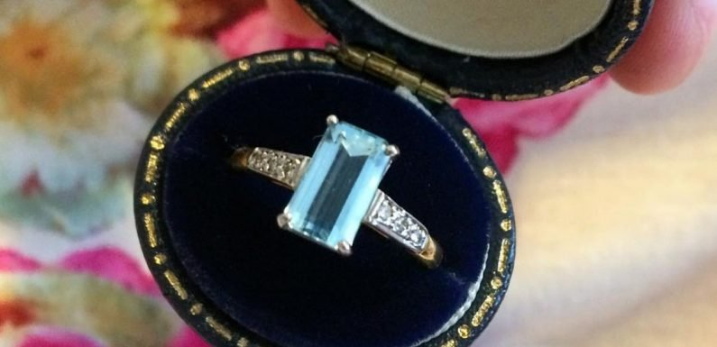 These Colored Engagement Rings Will Make You Forget All About Diamonds