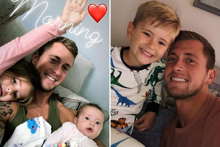 Proud dad Dan Osborne posts adorable picture of his daughters Mia and Ella after three weeks away from them in the Celebrity Big Brother house