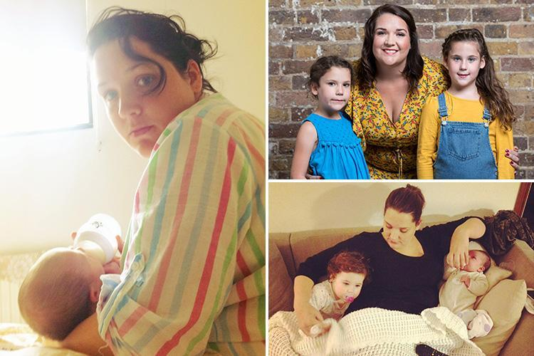 Mum of two reveals THREE-YEAR struggle with postnatal depression