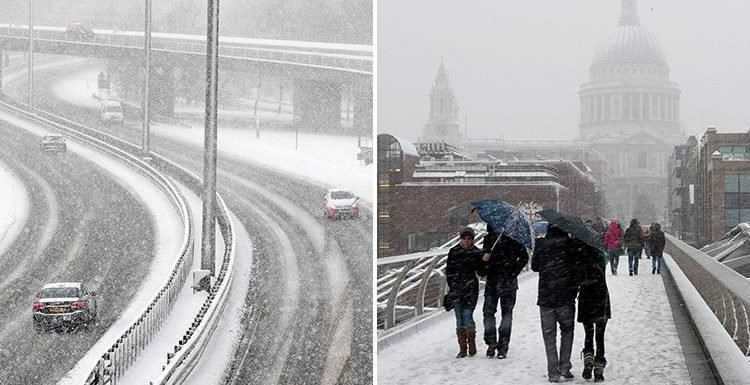 UK weather forecast – Britain set for Christmas snow storms as bookies slash odds on coldest winter on record