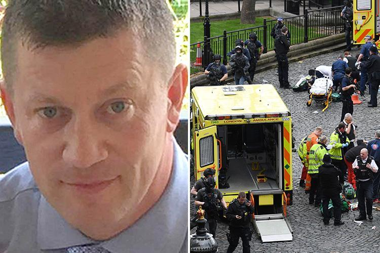 PC Keith Palmer 'had no cover from firearms officers with armed cops nowhere to be seen' when he was knifed to death by Westminster terror attacker
