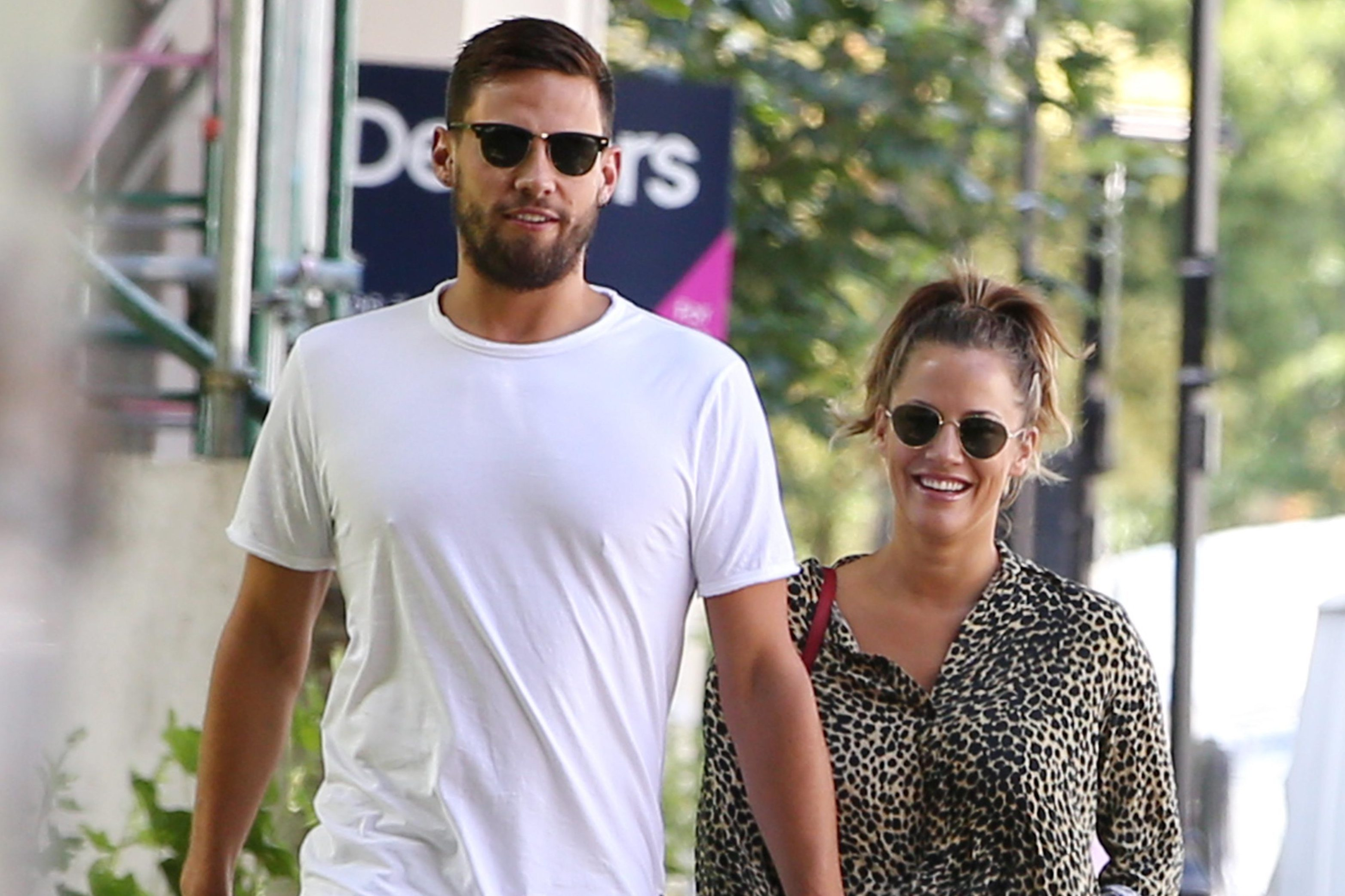 Caroline Flack 'puts Andrew Brady on her payroll as an advisor to save their relationship'