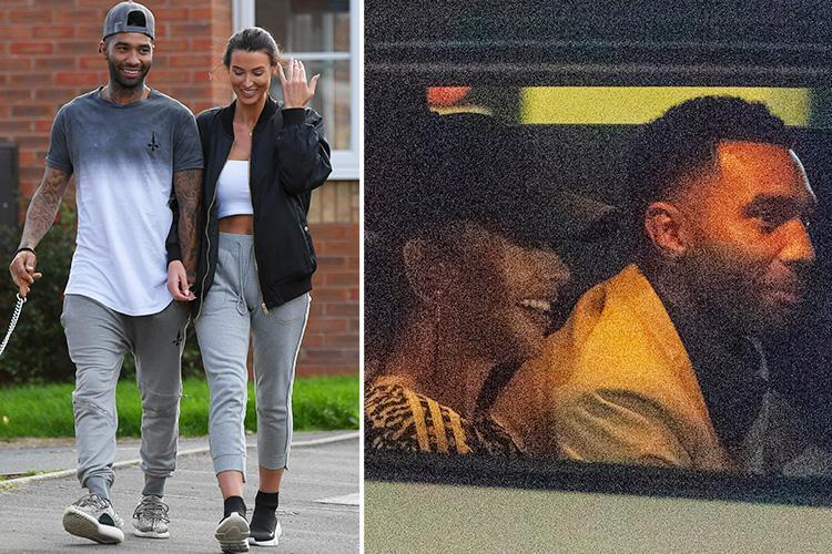 Jermaine Pennant promises wife Alice Goodwin he will quit wild partying after she forgives him for flirting with Chloe Ayling on CBB