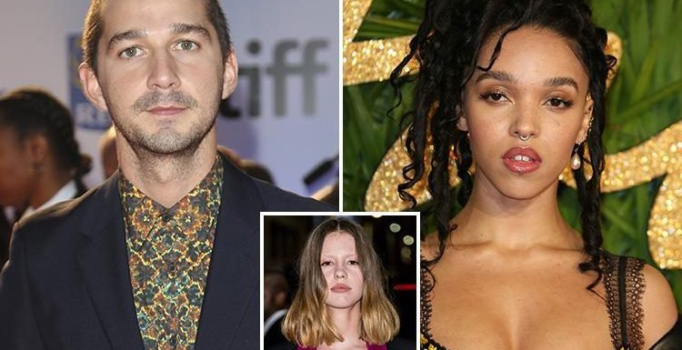 Shia LaBeouf 'dating FKA Twigs' after 'split from Mia Goth' as he's spotted leaving the singer's house