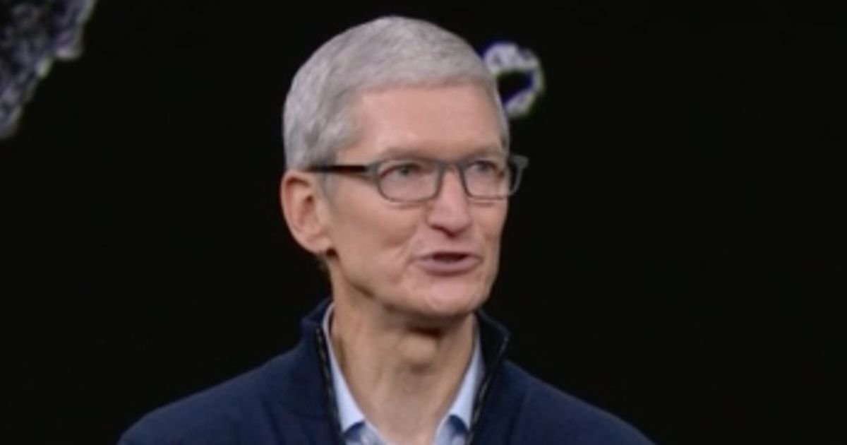 Apple CEO Tim Cook sends cryptic tweet ahead of iPhone launch event