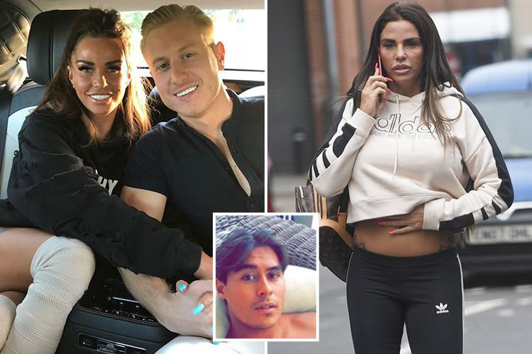 Katie Price snuck out of bed in middle of the night to FaceTime ex Kris Boyson but was caught by furious new man Alex Adderson