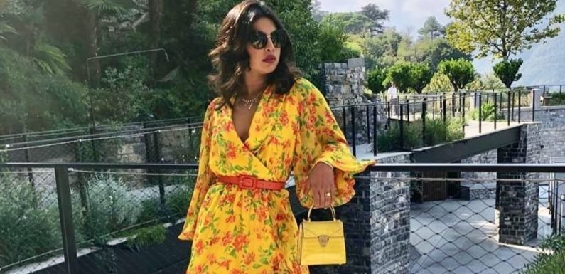 Priyanka Chopra's Dress Is So Bright, You'll Need to Put on Sunglasses