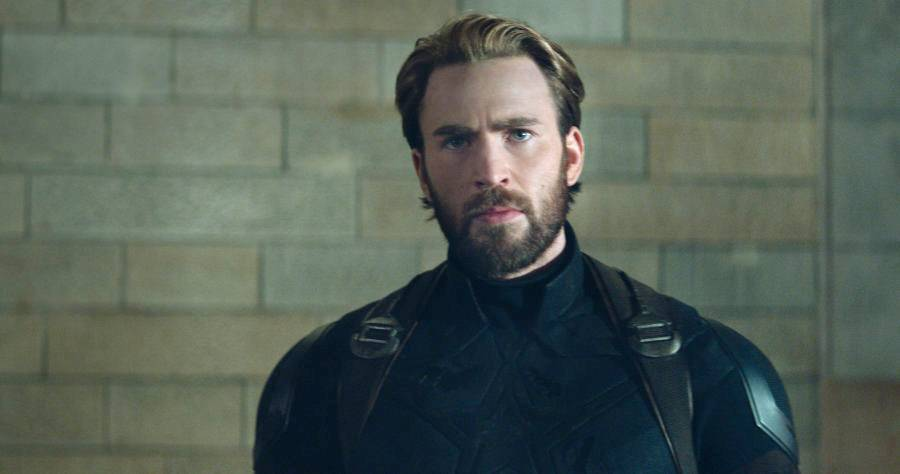 Chris Evans Brings Back Old School Cap in 'Avengers 4' 'Senior Year' Photo
