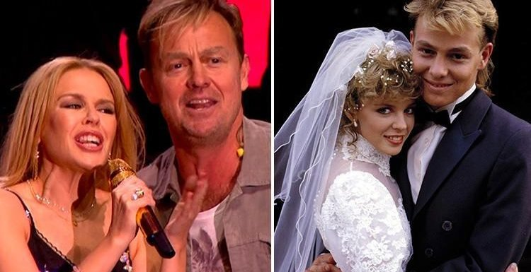 Friends say Kylie could go cold on ex Jason Donovan after his crude jokes about their sex life on his Amazing Midlife Crisis tour