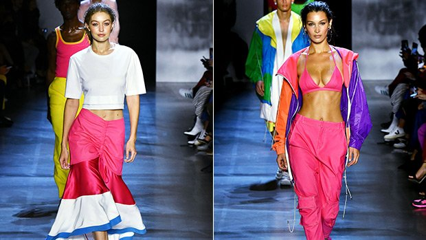 Gigi Vs. Bella Hadid: Which Sister Slayed In Pink With Slicked Back Hair On The Runway Best?