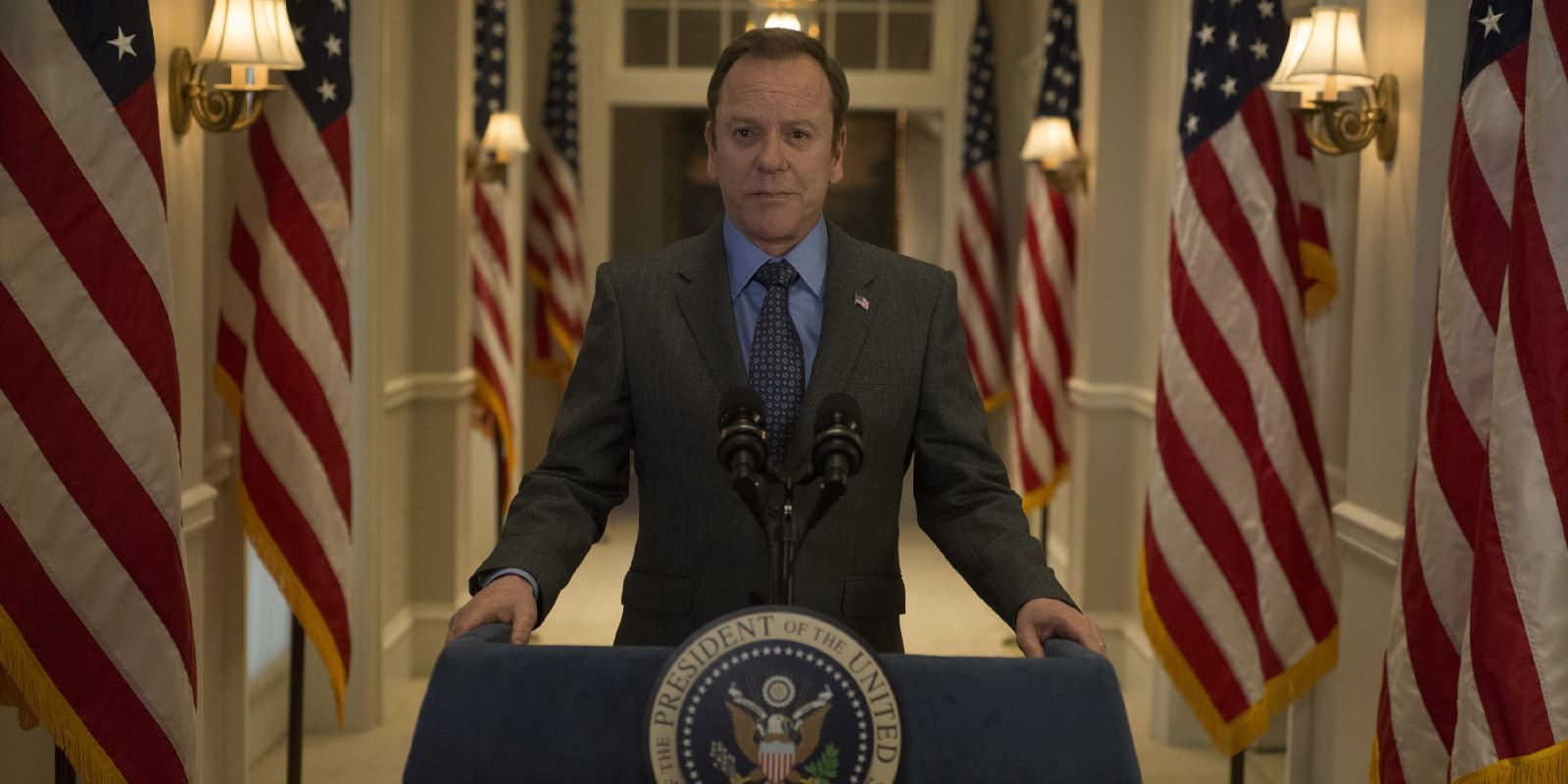Kiefer Sutherland's Designated Survivor is the latest show to be saved by Netflix