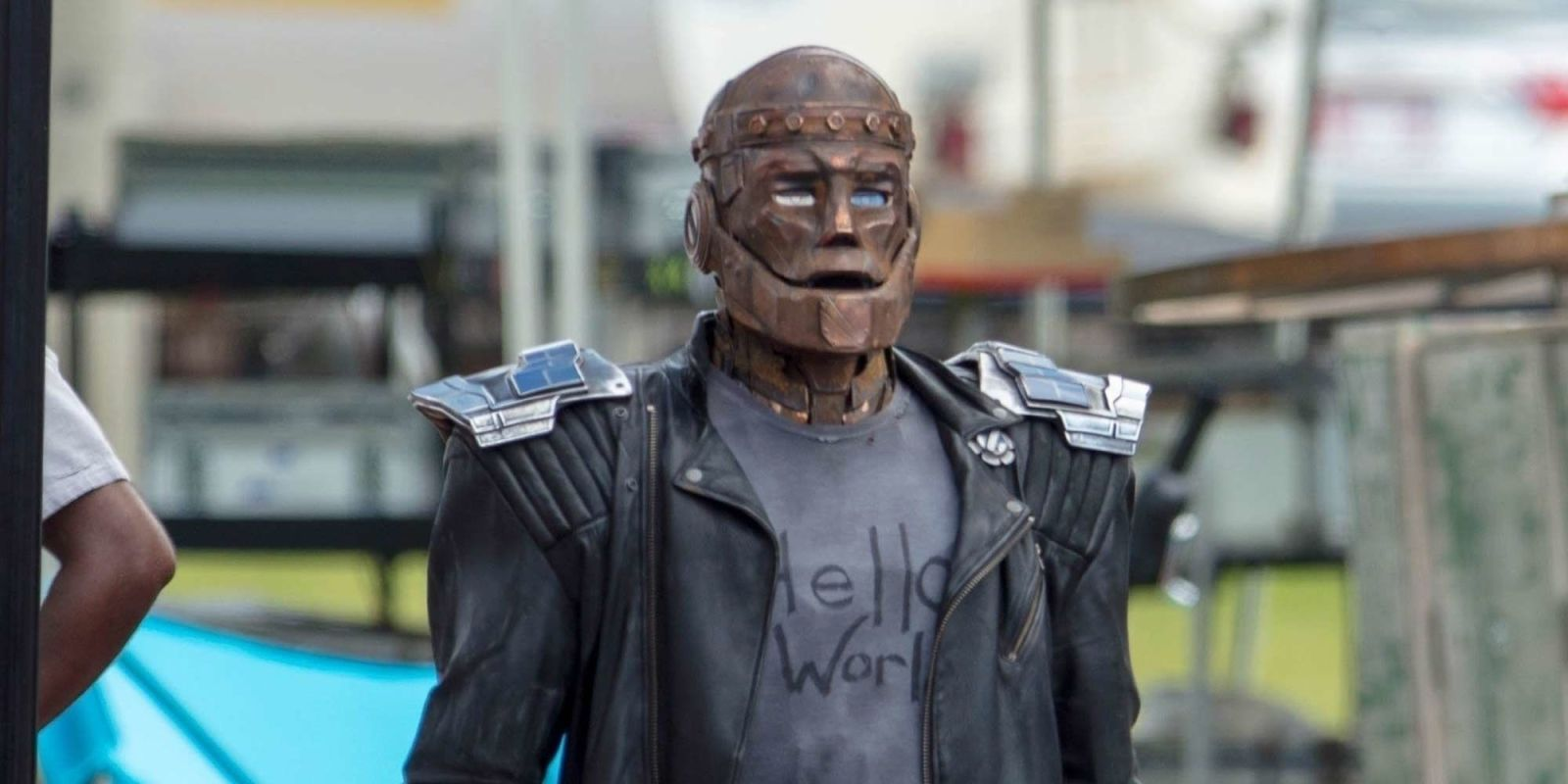 Doom Patrol's Robotman is revealed in new set pictures from DC Universe series