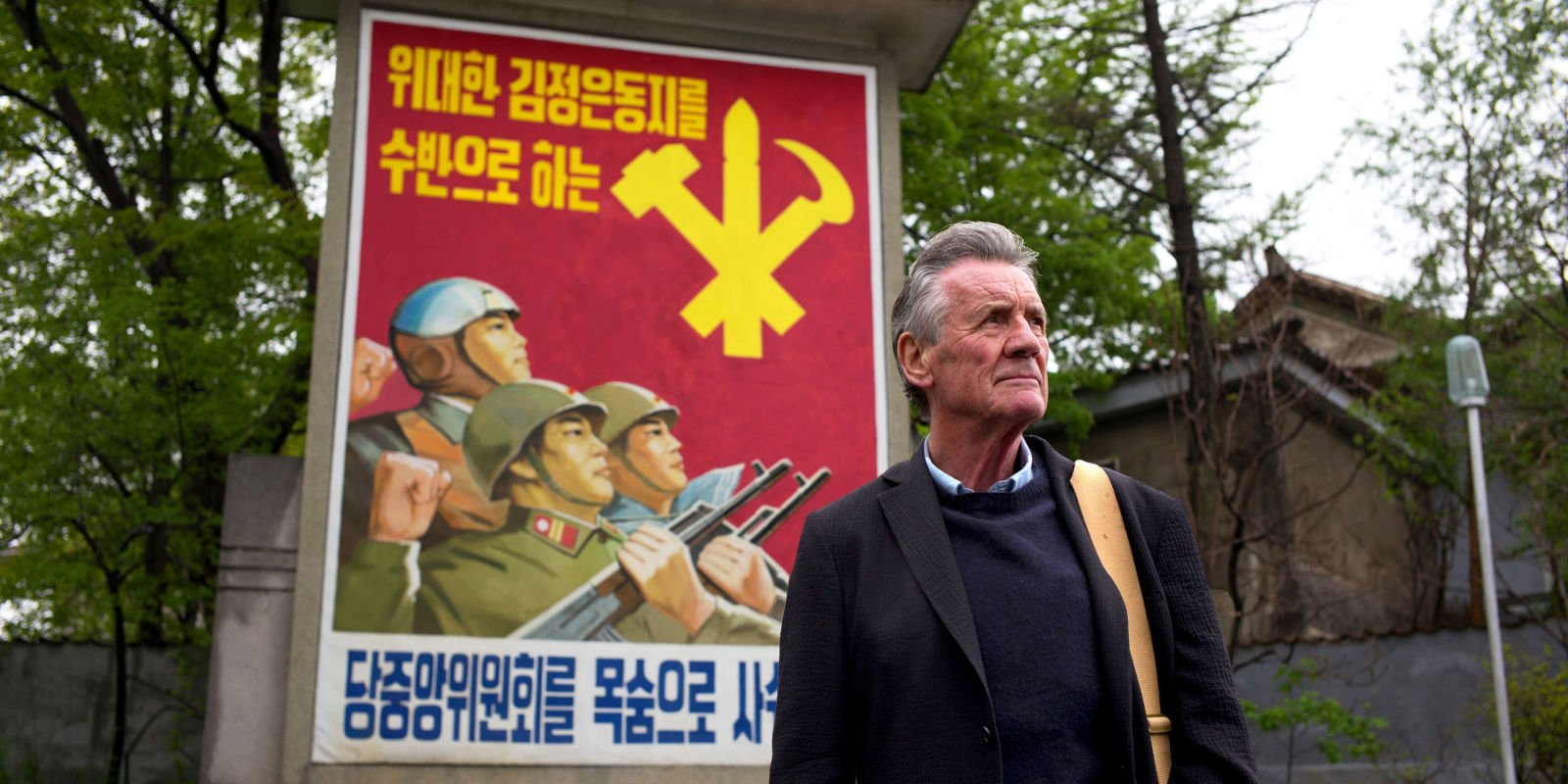 "Michael Palin is praised as the ""master"" of the travel programme after ""fascinating"" North Korea documentary"