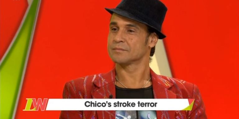 """X Factor star Chico Slimani breaks down on live TV as he opens up about stroke: """"I'm a walking, talking miracle"""""""