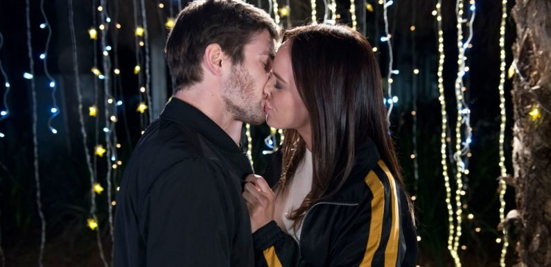 Neighbours' Ned Willis and Bea Nilsson finally kiss – but there's heartbreak in store