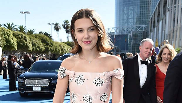 Millie Bobby Brown Looks All Grown Up In Off-The-Shoulder Gown At 2018 Emmys