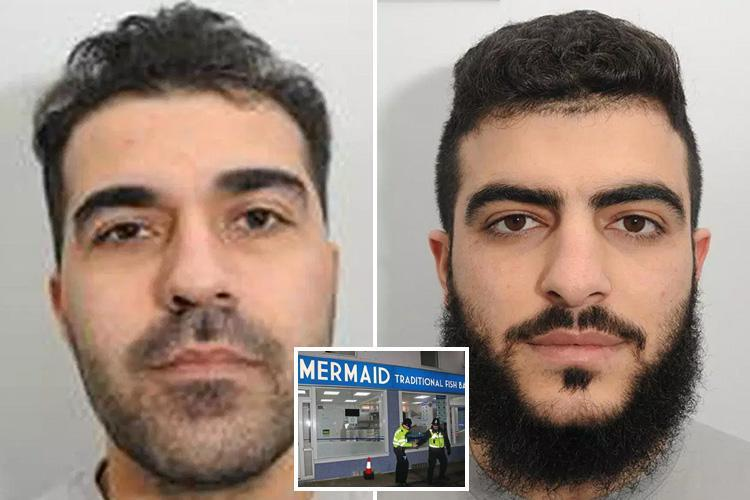 Chip shop 'terrorists plotted bomb attack on UK using DRIVERLESS car after stockpiling explosives'