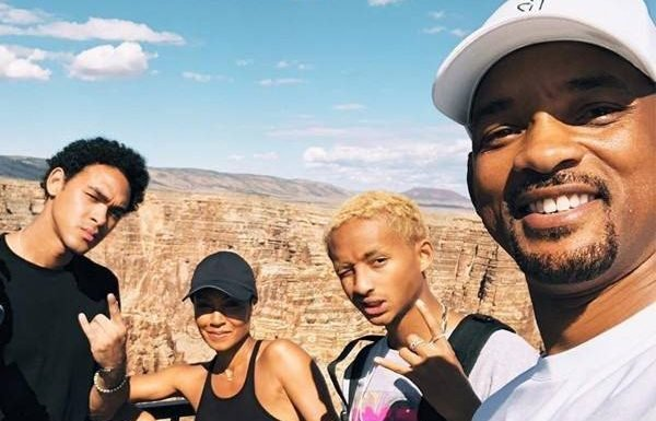 Will Smith Bungee Jumps Over Grand Canyon on 50th Birthday