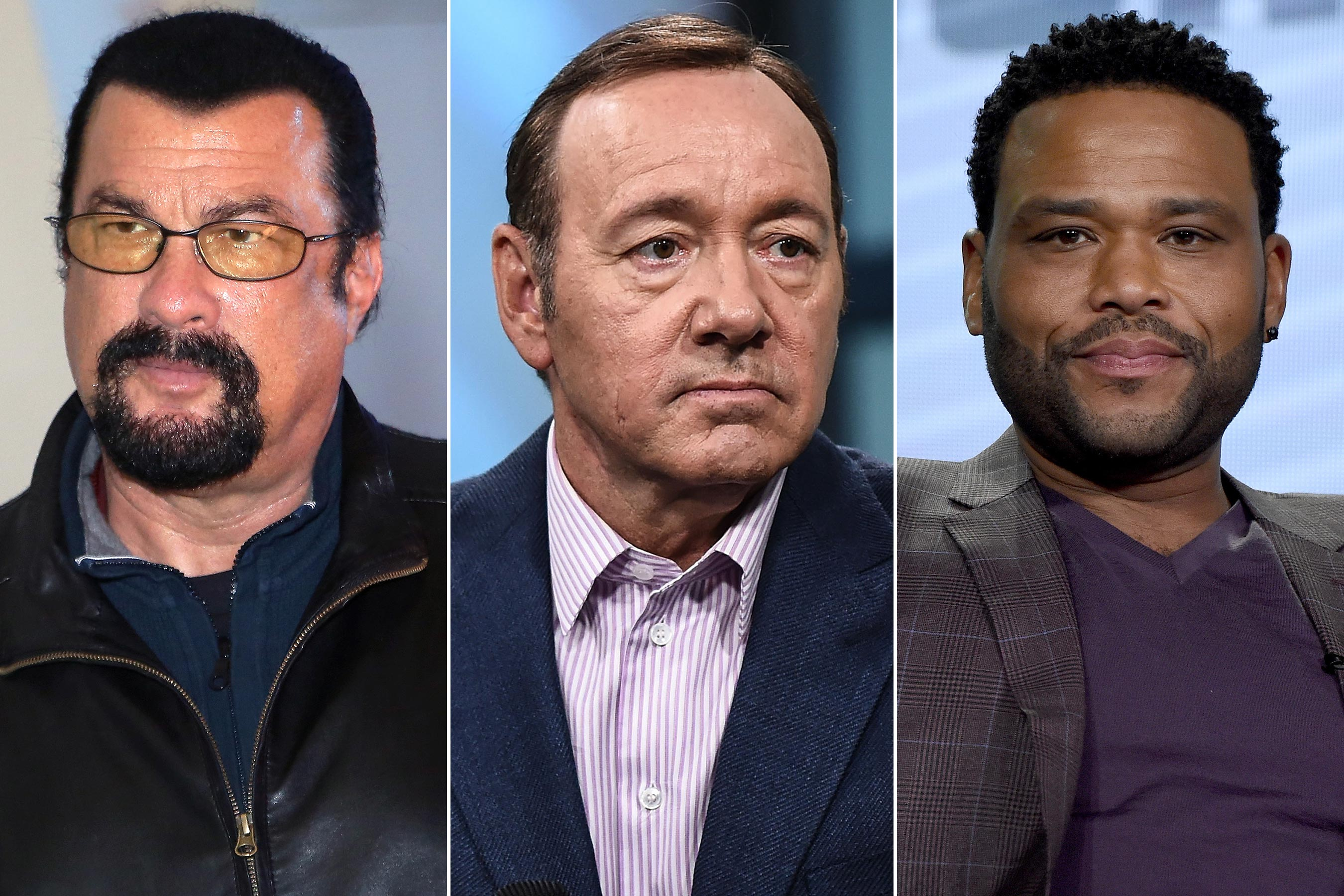 Kevin Spacey, Steven Seagal and Anthony Anderson Won't Face Charges for Alleged Sexual Assaults