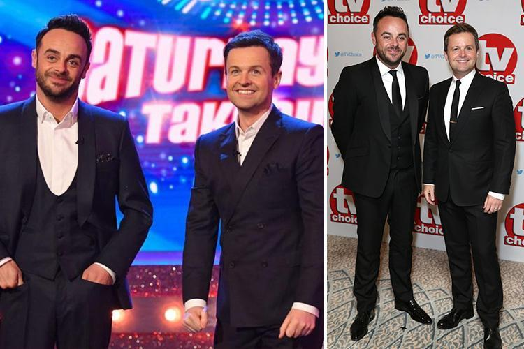 TV Choice Awards 2018: Ant and Dec's Saturday Night Takeaway wins Best Entertainment Show despite Ant McPartlin missing this year's series