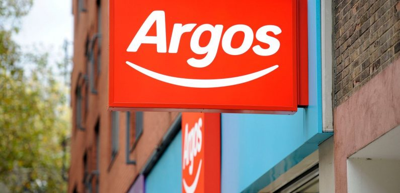 Argos is giving away £10 vouchers when you spend this much in store