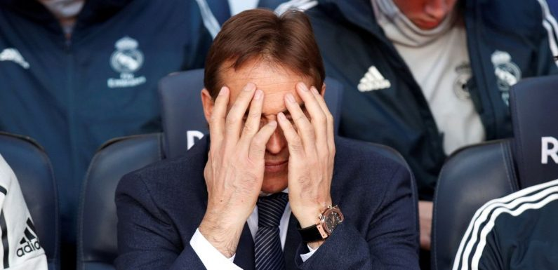 Julen Lopetegui sacked as Real Madrid manager