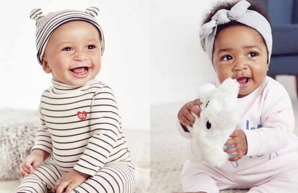 River Island launch new baby range and it's totally adorable