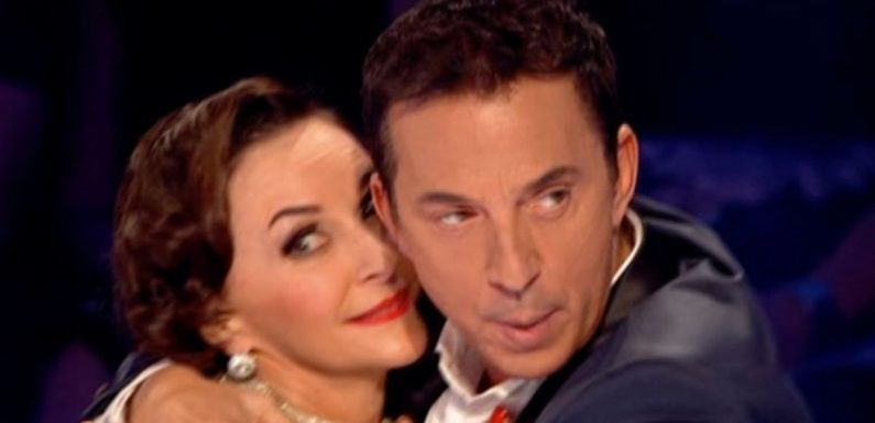 Bruno accused of being 'drunk' on Strictly after he grabs Shirley and strips off