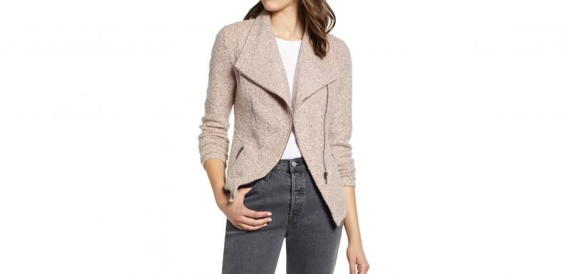 This Is the Knit Moto Jacket We'll Be Wearing All Fall Long
