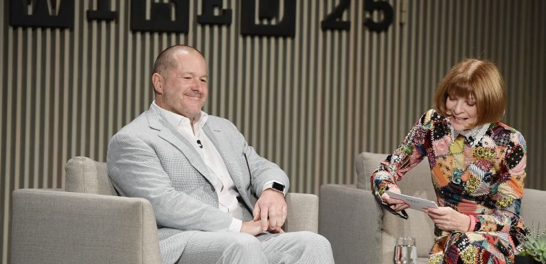 Apple design czar Jony Ive says he's staying put