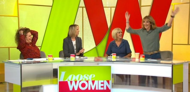 Loose Women's Kaye Adams saves the day after panel member falls ill
