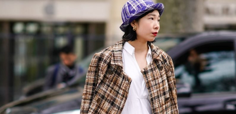 34 Stylish Ways to Wear Your Dress Without Freezing This Fall