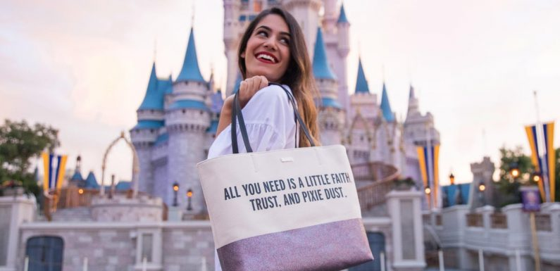 Kate Spade New York Is Bringing a Glittery Bag Collection to the Disney Parks