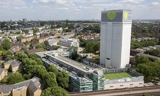 Hotel bill for survivors of Grenfell Tower fire reaches £30 MILLION