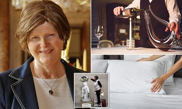 Chatsworth housekeeper on how to clean your house like a stately home