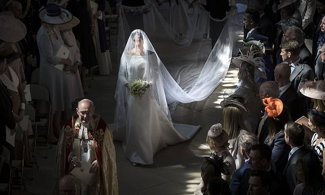 Meghan Markle walking down the aisle is best royal snap of the year
