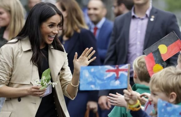 How the huggable Prince and the beaming Duchess charmed Melbourne